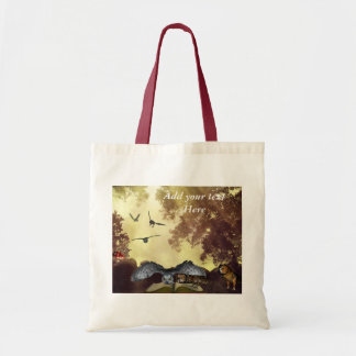 The magic Owl Book tote Bag
