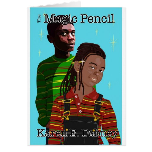 The Magic Pencil Gear Greeting Cards