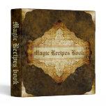 The Magic Recipes book Binder