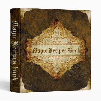 The Magic Recipes book Vinyl Binders