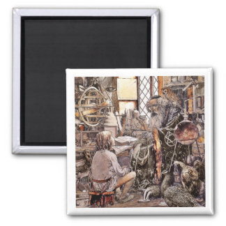 The Magic Shop 2 Inch Square Magnet