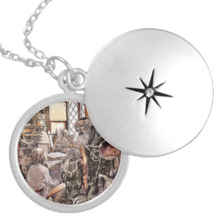The Magic Shop Round Locket Necklace