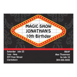 The Magic Show Marquee Custom Announcement