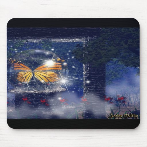 The Magic Sphere of Spring Mouse Pad