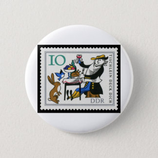 The Magic Table, The Donkey and The Stick 10 DDR Pinback Button