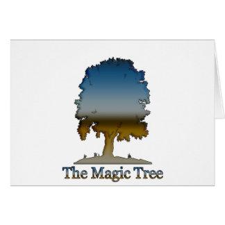 The Magic tree Card