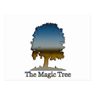 The Magic tree Postcard
