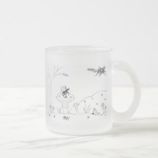 The Magic Wild Frosted Glass Coffee Mug