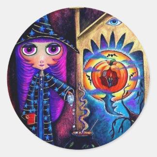 The Magic Window Halloween Sticker