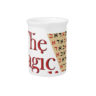 The Magic Word Drink Pitcher