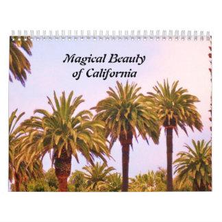 THE MAGICAL BEAUTY OF CALIFORNIA calendar