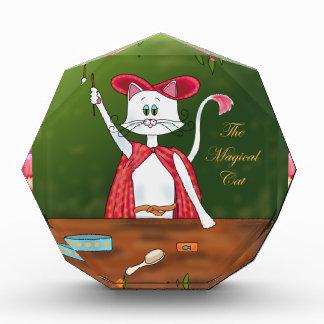 The Magical Cat Acrylic Award