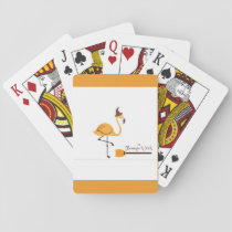 the magical flamingo playing cards