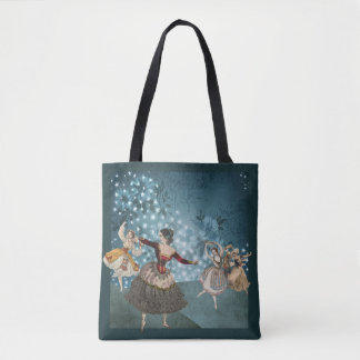The Magical Forest and Dancing Gypsies Tote Bag