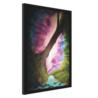 THE MAGICAL GARDEN canvas Canvas Print