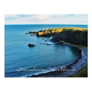 The magical Stonehaven in beautiful Scotland! Postcard