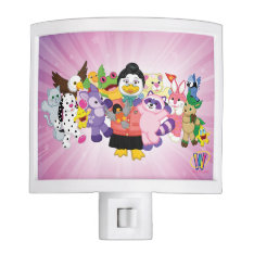 The Magical World of Webkinz Nite Light at Zazzle
