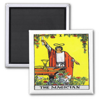 The Magician 2 Inch Square Magnet