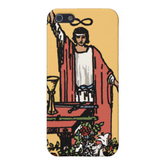 """The Magician"" Tarot Card iPhone4 Case"