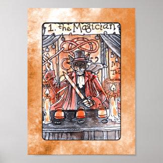 The Magician Tarot Poster