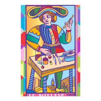 The Magician - the Magician (Tarot) Stationery Paper