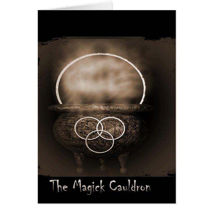 The Magick Cauldron Card