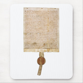 The Magna Carta 1297 Version Mouse Pad