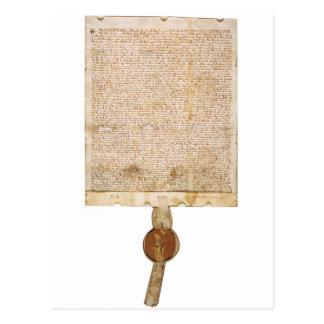 The Magna Carta 1297 Version Postcard