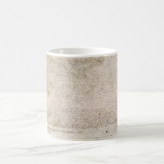The Magna Carta of 1215 Charter of Liberties Classic White Coffee Mug