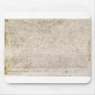 The Magna Carta of 1215 Charter of Liberties Mouse Pad
