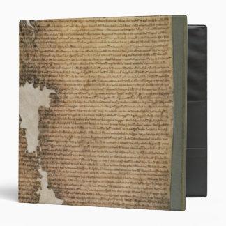The Magna Carta of Liberties, Third Version 3 Ring Binder