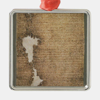 The Magna Carta of Liberties, Third Version Metal Ornament