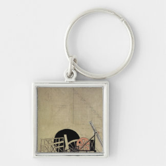 The Magnanimous Cuckold' Silver-Colored Square Keychain