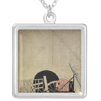The Magnanimous Cuckold' Square Pendant Necklace