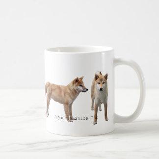 "The magnetic cup 2 ""of Japanese Shiba Inu"" Classic White Coffee Mug"