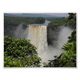 The Magnificent Kaieteur falls Posters