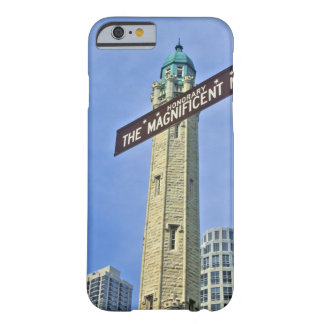 'The Magnificent Mile Sign with the Water Tower, Barely There iPhone 6 Case