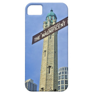 'The Magnificent Mile Sign with the Water Tower, iPhone SE/5/5s Case