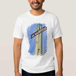 'The Magnificent Mile Sign with the Water Tower, Tshirt
