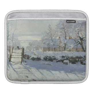 The Magpie by Claude Monet GalleryHD iPad Sleeves