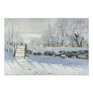 The Magpie by Claude Monet Photo Print