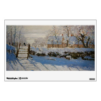 The Magpie La Pie by Claude Monet Wall Skins