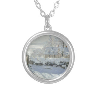 The Magpie Silver Plated Necklace
