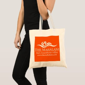 The Mahalani Orange Tote Bag