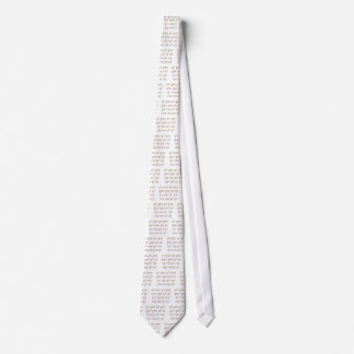 The Mahamantra in Sanskrit Neck Tie