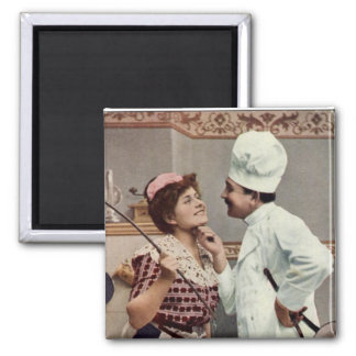 THE MAID AND THE COOK MAGNET