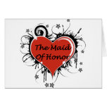 The Maid Of Honor Greeting Card