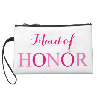 The Maid of Honor Wristlet