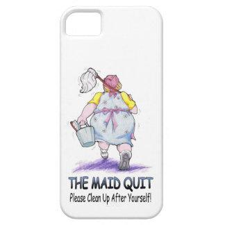 The Maid Quit iPhone SE/5/5s Case