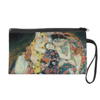 The Maiden, 1913 (oil on canvas) Wristlet Clutch